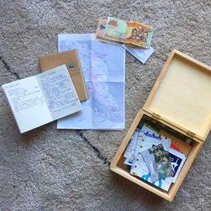 DIY boites souvenirs de voyages