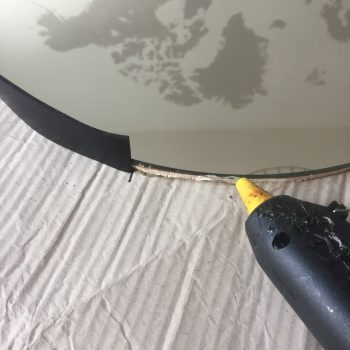 DIY miroir rond suspendu captain's mirror