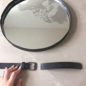 DIY miroir rond suspendu captain's mirror