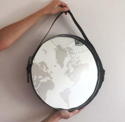 DIY #44 – Un miroir suspendu