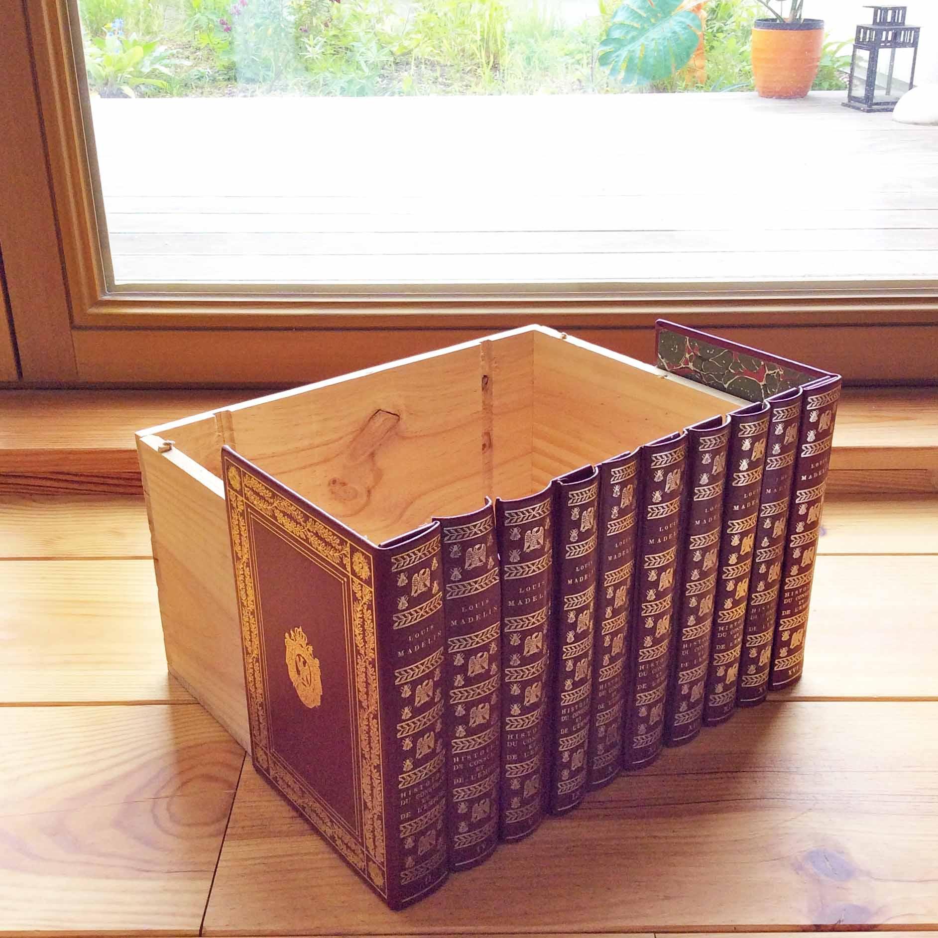 DIY boîte de rangement secrète