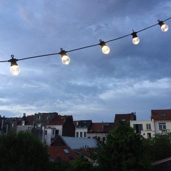 déco de fête extérieur outdoor bohème Skylantern Pierre Papier Ciseaux