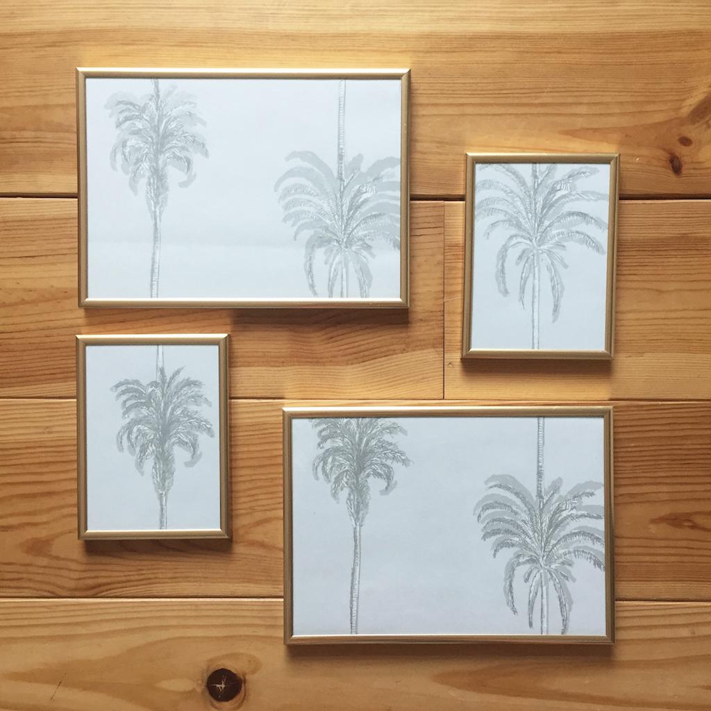 Diy 52 un tableau en papier peint pierre papier ciseaux for Papier peint sur un seul mur