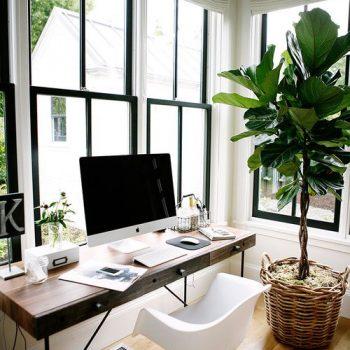 Beautiful Home Office Mit Ausblick Design Bilder Pictures - Rellik ...