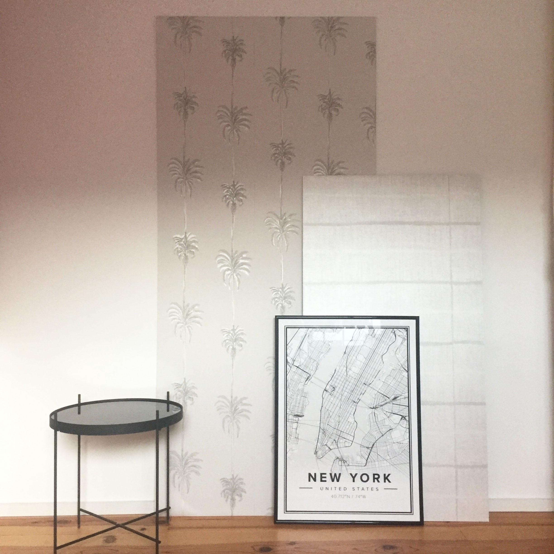 2 Papiers Peints Différents diy #55 – un panneau décoratif en papier peint  