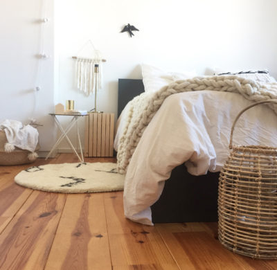 1 tapis, 2 ambiances : intégrer un tapis rond à sa déco