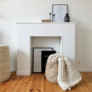 DIY #70 – Une fausse cheminée