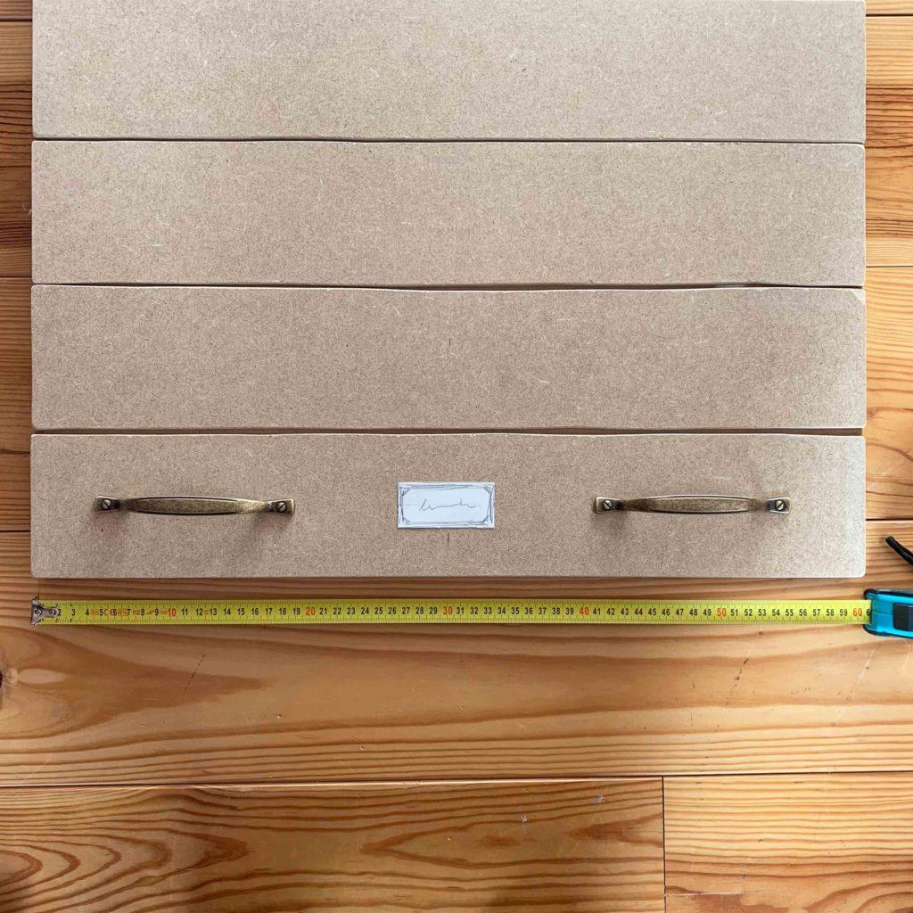 Petit Meuble Roulettes Ikea diy #73 – un meuble de métier à tiroirs  