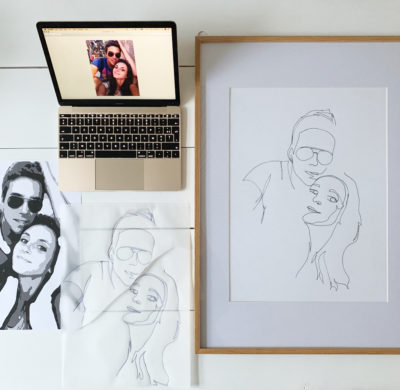 DIY #72 – Ma technique pour le « one line drawing »